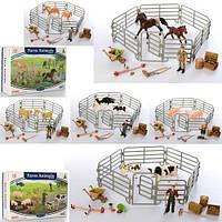 Животные -67  домашние, от10см, фигурка9см, ферма,микс видов,в кор-ке,27-18-7см