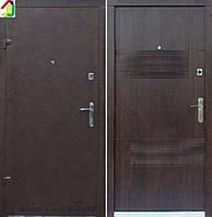 Двері вхідні Бастіон-БЦ Порошок-Економ Ескада ПВХ-80, двері для квартири, офісу, двері броньовані