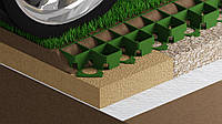 Газонная решетка зеленая