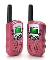 Рация Baofeng MiNi BF-T3 PMR446 2 шт Pink, КОД: 1316536