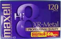 Видеокассета Maxell Hi8 XR Metal 120 professional quality