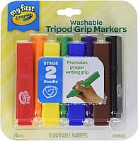 Crayola My First Смываемые маркеры - фломастеры для малышей Ultra-Clean Washable Markers