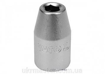 """Переходник для насадок викруткових : квадрат 1/2"""", М= 8 мм, CrV [Блистер] YaTo YT-12951"""