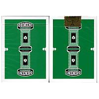 Gemini Casino Green (зеленые) - игральные карты