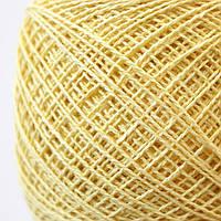 Пряжа хлопок Ярослав цвет №300 Пастельный желтый