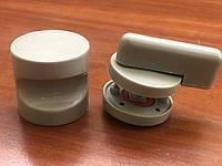 Защелка wc и ручка (комплект из двух ручек) пластиковые для сантехнических перегородок толщиной ЛДСП 16-20 мм