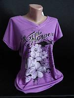 Длинные футболки с цветочками . , фото 1