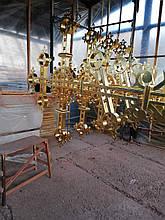Изготовление крестов для Свято-Троицкого храма