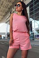 Комбинезон женский розовый 88145