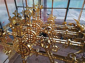 Изготовлению крестов для Свято-Троицкого храма.