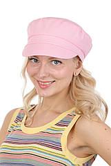 Кепка картуз летний женский розовый