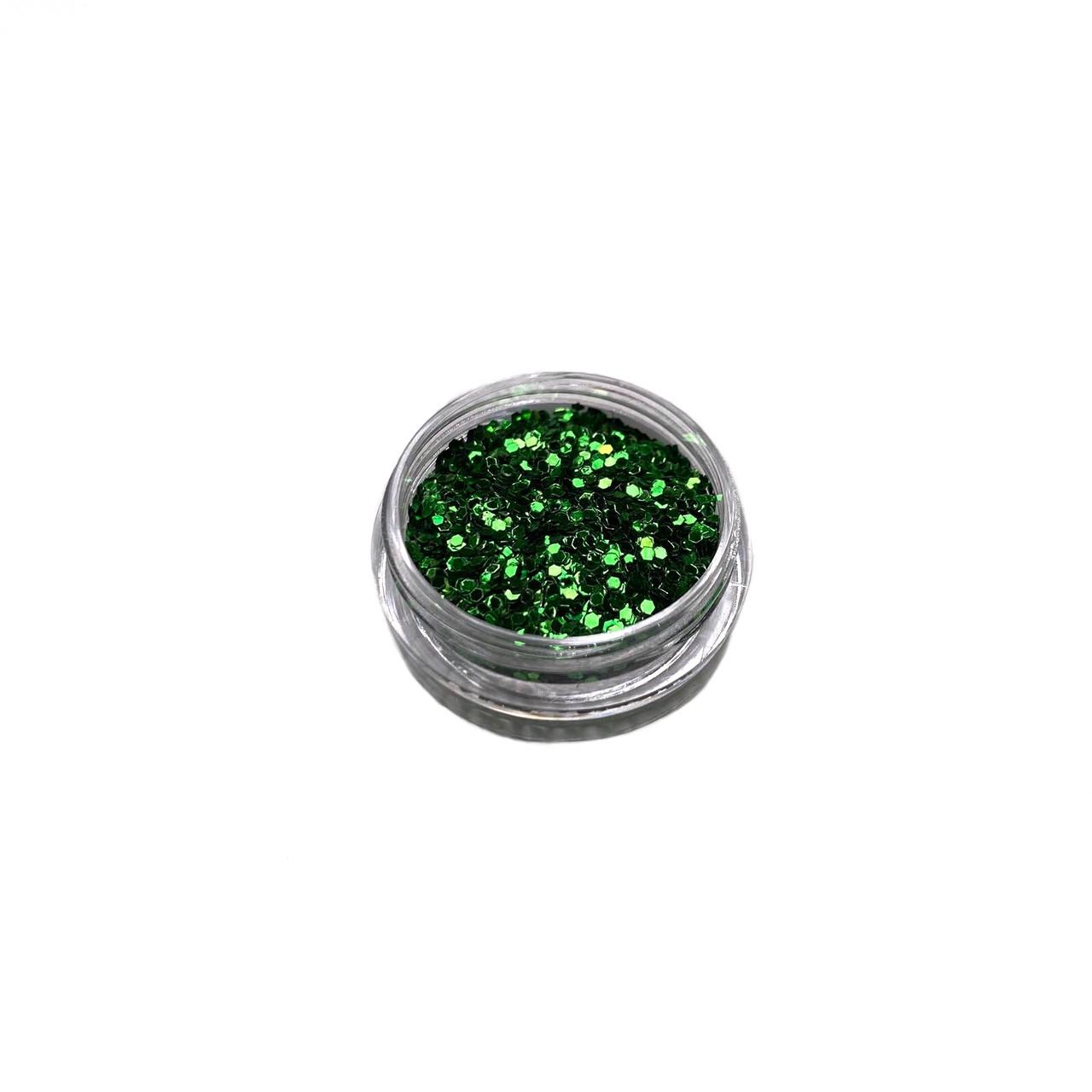 Конфетти (Зеленый)