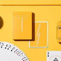 King Slayer Yellow - игральные карты от Ellusionist