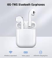 Беспроводные наушники TWS i9s визуально Apple AirPod Код 147
