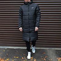 Зимняя мужская куртка парка  Nike (Найк) S, M, L, XL, XXL