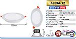 Alexa-12 Вт Світлодіодний світильник вбудований, фото 2