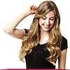 Натуральные Европейские Волосы на Заколках 40 см 120 грамм, Светло-Русый №18, фото 5