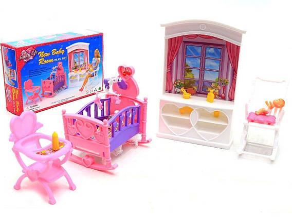 """KM24022 Мебель """"Gloria""""   для детской, в кор. 31*18*5см, фото 2"""