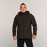 Демисезонная куртка мужская хаки от бренда ТУР модель Центурион (Cеnturion)