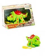 """KM76816 Конструктор-динозавр """"Трицератопс"""" ( 32 елемента) ( у коробці)"""