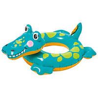 Детский надувной круг Intex 58221 Крокодильчик 3-6 лет 71х56 см