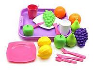 KM46970 Набір продуктів №2 з посудкою та підносом (21 елемент) (в сіточці)