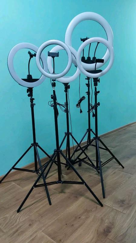 Кольцевая Светодиодная Лампа LED 55 см  Штатив Селфи Кольцо Для Блогеров