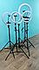 Кольцевая Светодиодная Лампа LED 55 см  Штатив Селфи Кольцо Для Блогеров, фото 4
