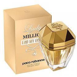 Paco Rabanne Lady Million Eau My Gold Туалетная вода EDT 80ml (Пако Рабане Леди Миллион Май Голд) Женские Духи