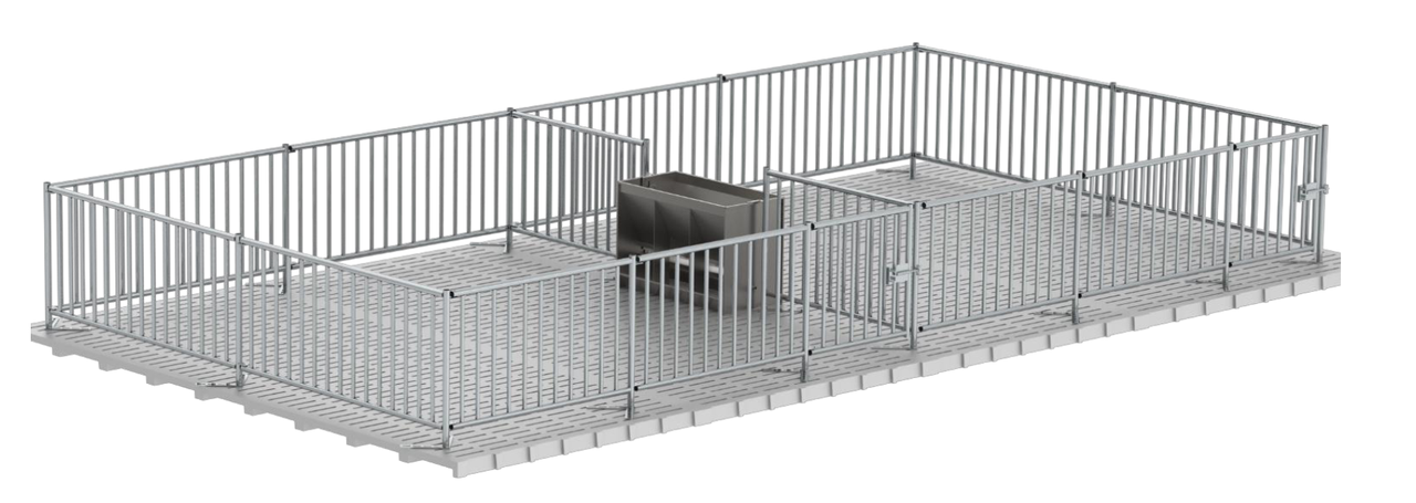 Ограждение для свиней высота 1,4 м, 14 см // клетка для свиней