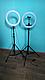 Кільцева Світлодіодна Лампа LED 36 см Штатив Селфи Кільце Для Блогерів, фото 2