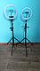 Кільцева Світлодіодна Лампа LED 36 см Штатив Селфи Кільце Для Блогерів, фото 5