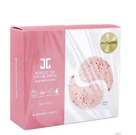 Патчи под глаза Jayjun Roselle Tea Eye Gel Patch (10 пар в индивидуальной упаковке)