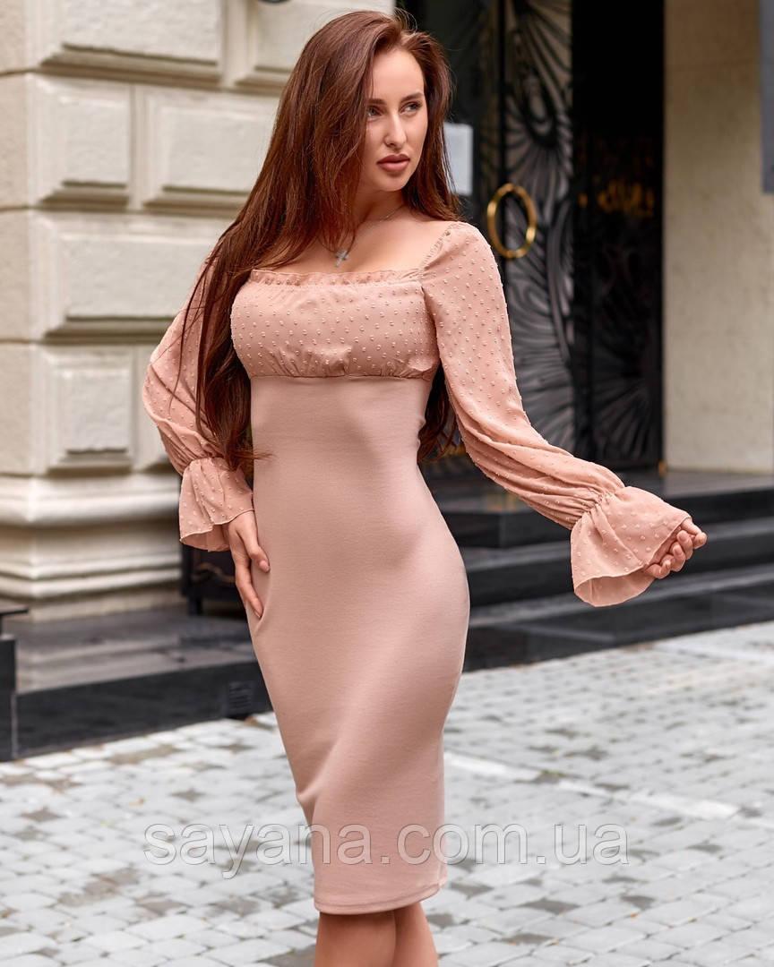 Платье летнее и воздушное в расцветках АЕ-9-0720
