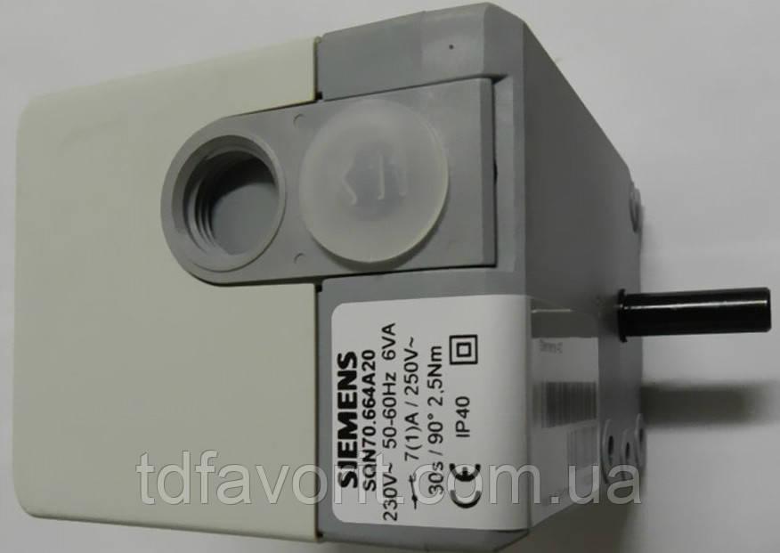 Сервопривід Siemens SQN70.664A20