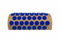 Массажный полувалик акупунктурный Onhillsport Lounge 24 х 11 х 6 см Синий LS-1003, КОД: 311085