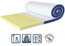 Беспружинный матрас Флекс Мини стрейч / Flex Mini Sleep&Fly стрейч ортопедический тонкий мини-матрас