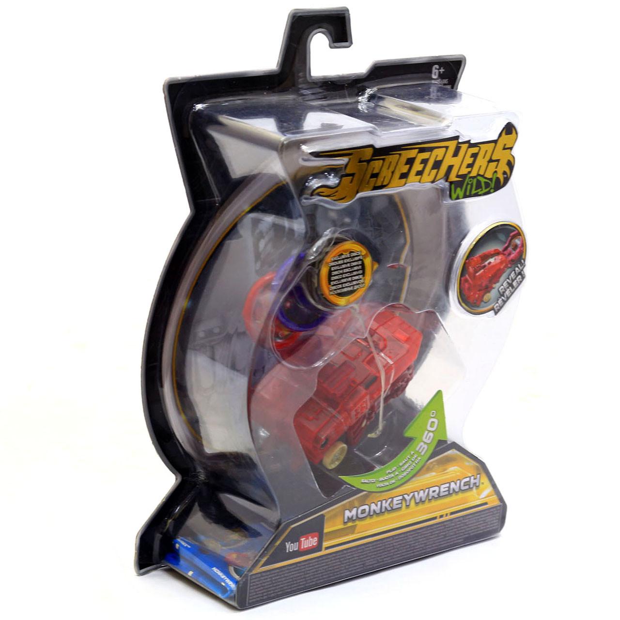Машинка-трансформер Screechers (Дикі Скричеры) Wild L2 Манкиренч (EU683122)