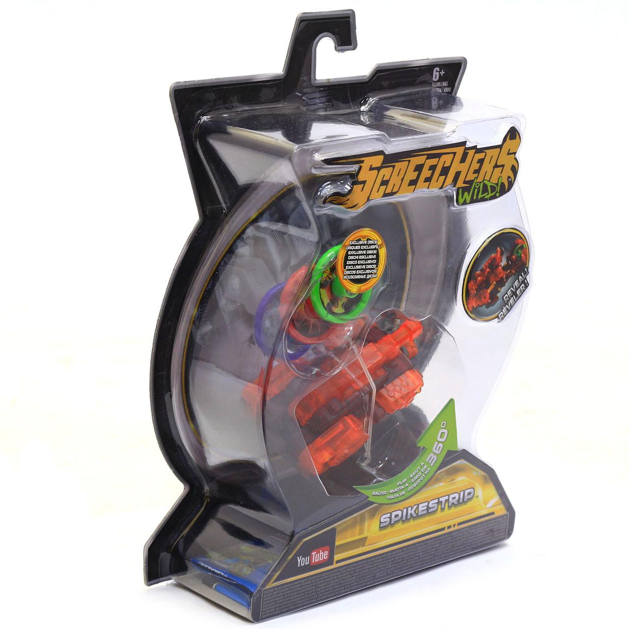 Машинка-трансформер Screechers (Дикие Скричеры) Wild L2 Спайкстрип (EU683125)