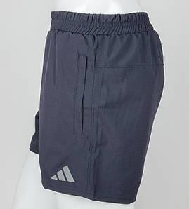 Шорты мужские спортивные Adidas (ШП02), Т.Синий