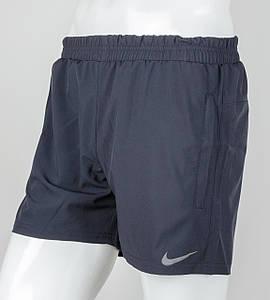 Шорты мужские спортивные Nike (ШП01), Т.Синий