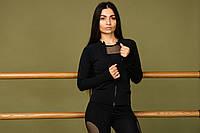 Женская спортивная кофта на молнии fitU