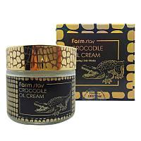 Крем для лица с жиром крокодила FarmStay Crocodile Oil Cream 8809187043075, КОД: 1746742