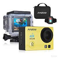 Экшн камера Action Camera Q3H с пультом 24 крепления Yellow dr 53346, КОД: 1383572