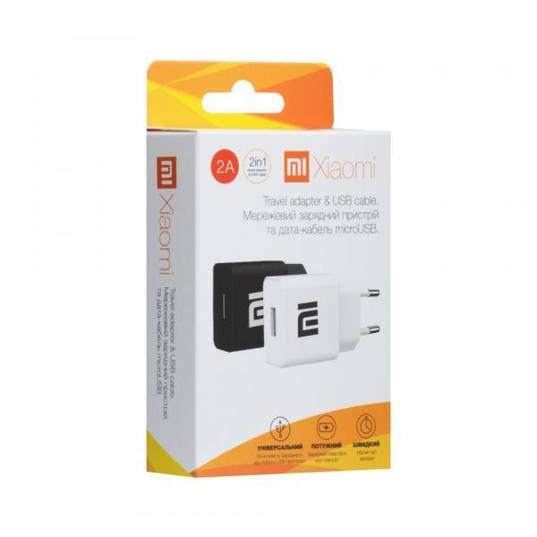 Мережевий Зарядний Пристрій Xiaomi YJ-06 2A Micro AA