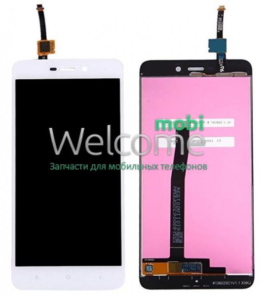 Модуль Xiaomi Redmi 4a white дисплей экран, сенсор тач скрин