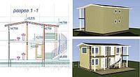 Строительство канадских домов. Проекты минигостиниц.