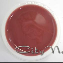 Акрил, гель для нарощування і зміцнення нігтів Gel Acrylic CityNail 212 темно карамельно бежевий 50мл