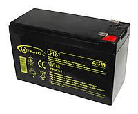 Аккумулятор для ИБП 12В 7Ач Gemix LP12-7.0 151х65х94 мм