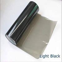 Пленка тонировочная на авто Светло Черная 100х30 см